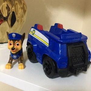 5️⃣/$20 Paw Patrol Chase and Police Patrol car
